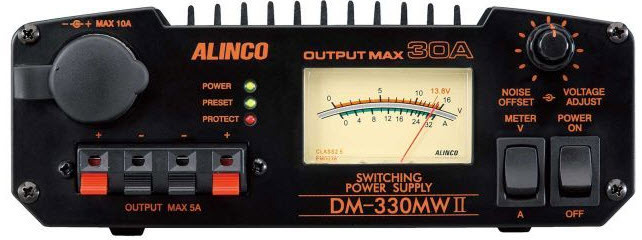 Alinco DM 330MwII front