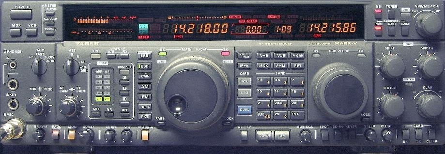 Yaesu FT 1000MP Mark V